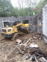 <h5>debris removal 1</h5><p>When you have a large job, it's faster and more cost effective to hire someone with some machinery to help. </p>