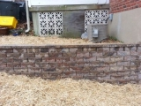 <h5>Retaining Wall - After</h5><p>Another angle of the finished retaining wall 																																																																				</p>