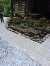 <h5>Paver Walkway After</h5><p>The finished product																	</p>