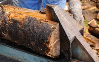 log splitting service